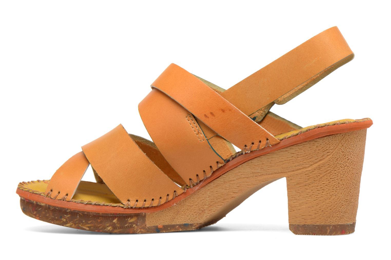Sandales et nu-pieds Art Amsterdam 1055 Jaune vue face