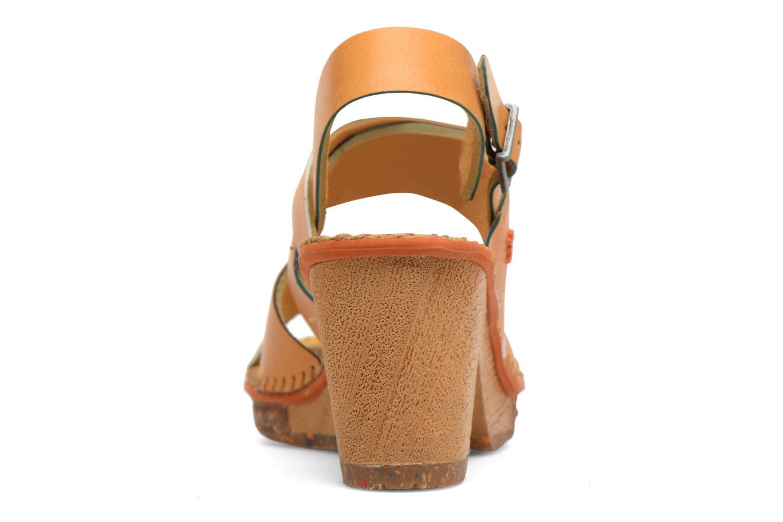 Sandales et nu-pieds Art Amsterdam 1055 Jaune vue droite