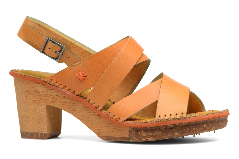 Sandales et nu-pieds Art Amsterdam 1055 Jaune vue derrière