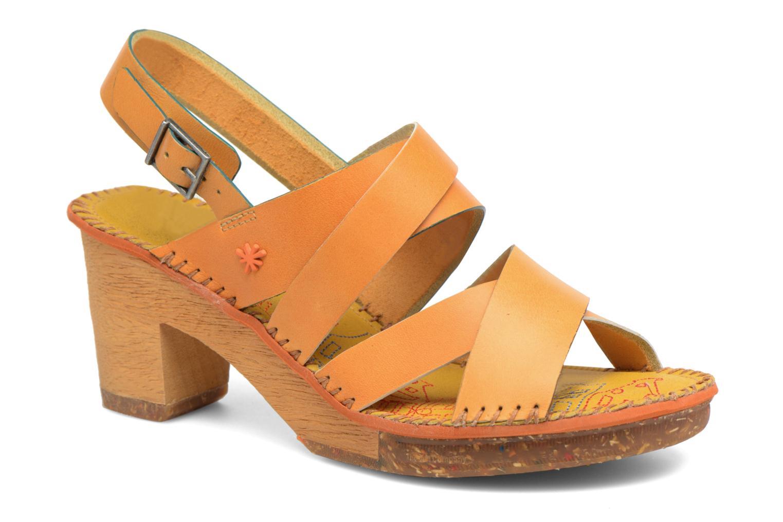 Sandales et nu-pieds Art Amsterdam 1055 Jaune vue détail/paire