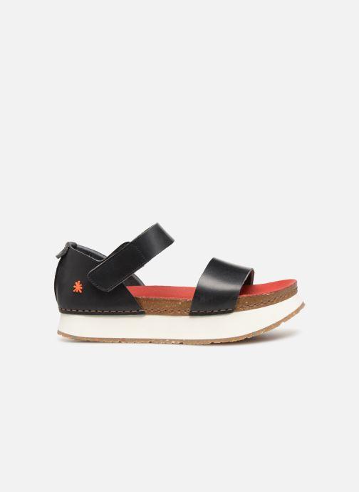 Sandales et nu-pieds Art Mykonos 1260 Noir vue derrière