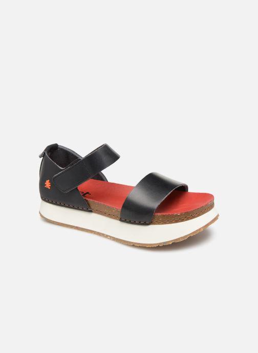 Sandales et nu-pieds Art Mykonos 1260 Noir vue détail/paire