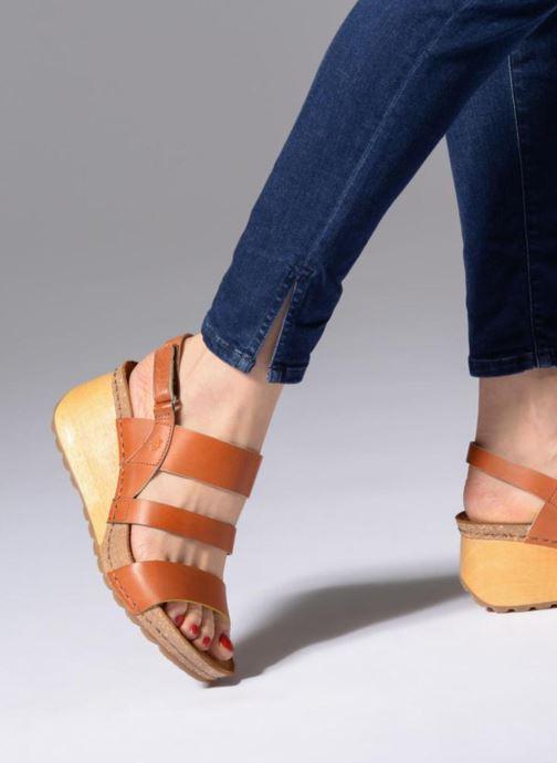Sandalen Art Borne 1320 braun ansicht von unten / tasche getragen