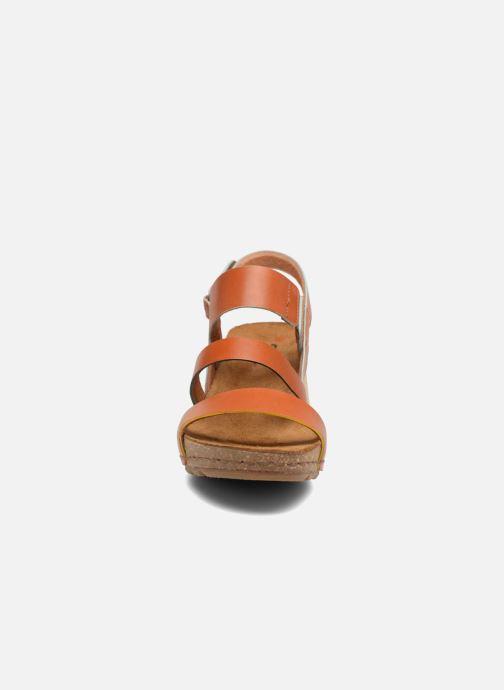 Sandalen Art Borne 1320 braun schuhe getragen