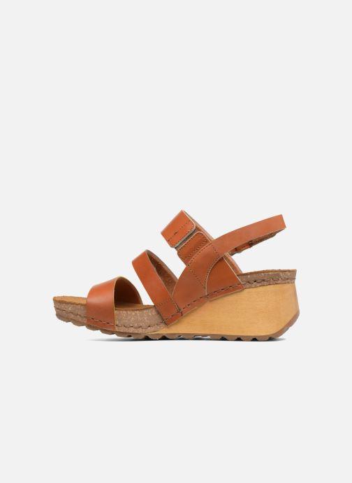 Sandalen Art Borne 1320 braun ansicht von vorne