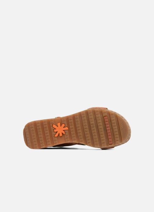 Sandalen Art Borne 1320 braun ansicht von oben