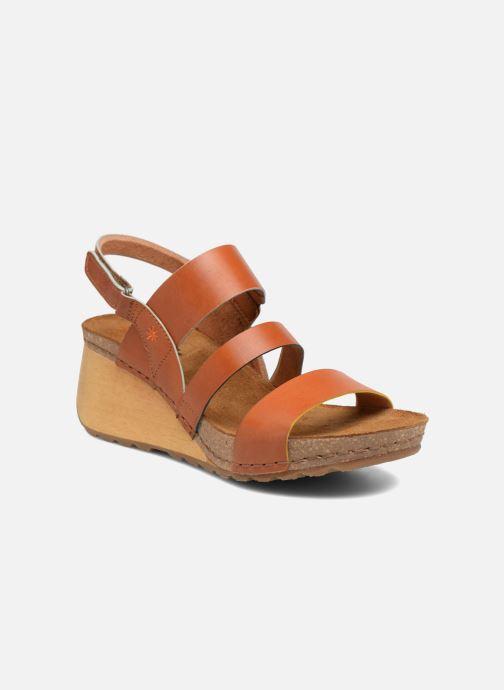 Sandalen Art Borne 1320 braun detaillierte ansicht/modell
