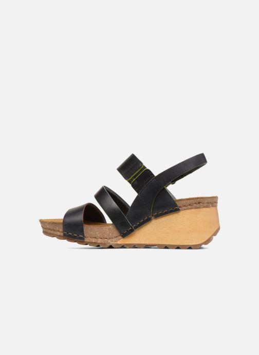 Sandals Art Borne 1320 Black front view