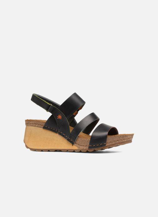 Sandals Art Borne 1320 Black back view