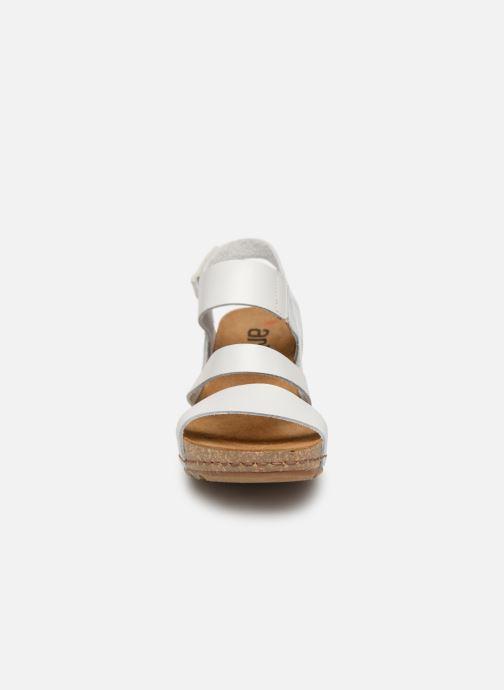 Sandales et nu-pieds Art Borne 1320 Blanc vue portées chaussures
