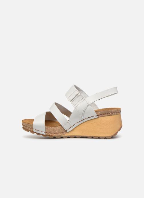 Sandales et nu-pieds Art Borne 1320 Blanc vue face
