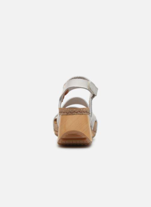Sandalen Art Borne 1320 weiß ansicht von rechts