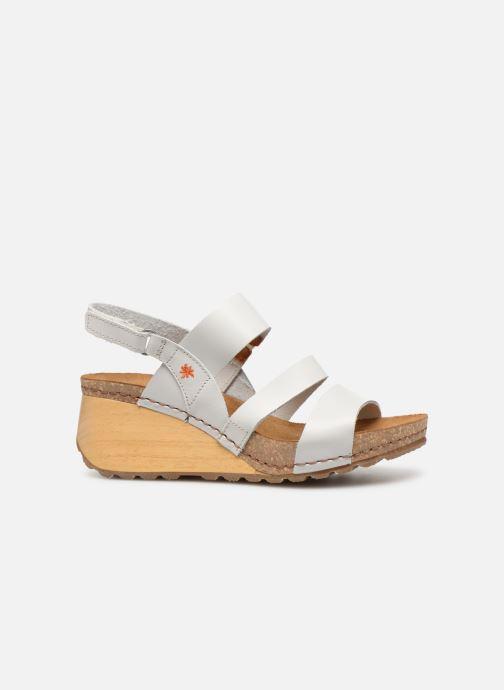 Sandalen Art Borne 1320 weiß ansicht von hinten