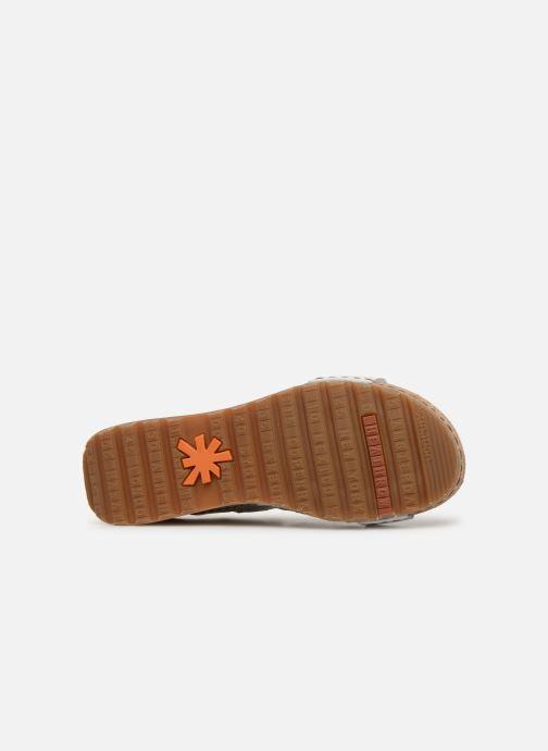 Sandales et nu-pieds Art Borne 1320 Blanc vue haut