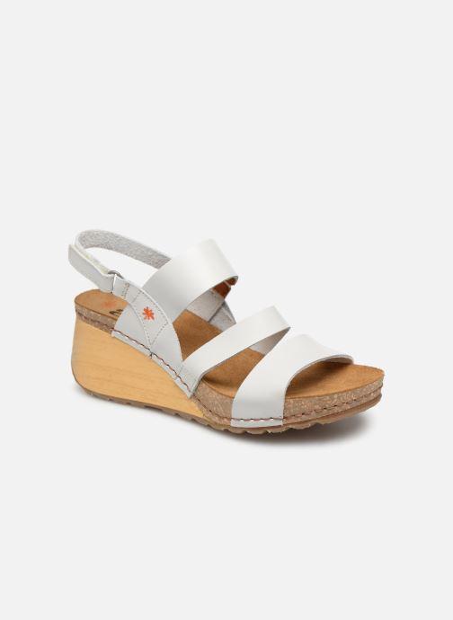 Sandales et nu-pieds Art Borne 1320 Blanc vue détail/paire