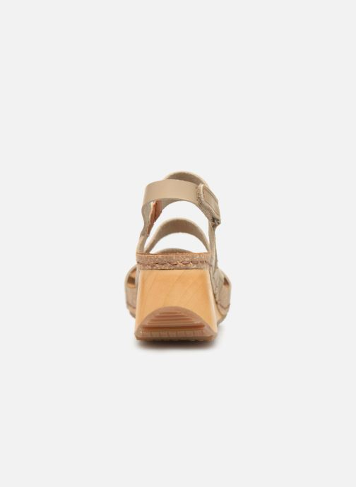 Sandales et nu-pieds Art Borne 1320 Beige vue droite