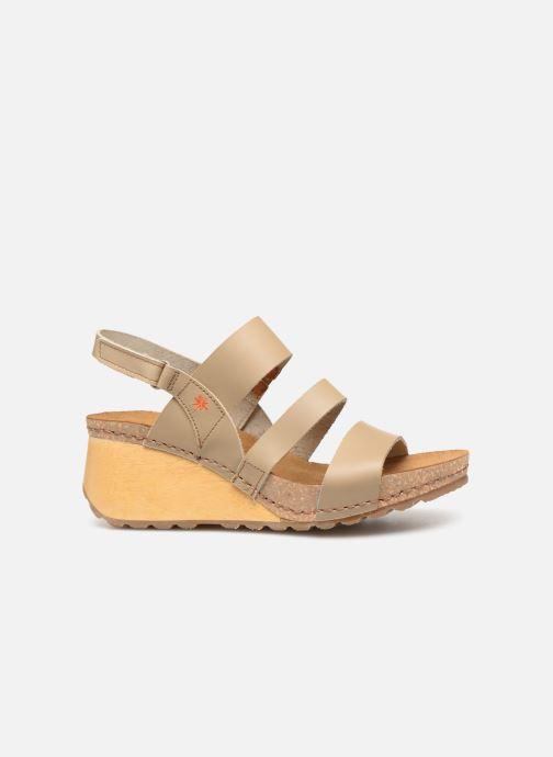 Sandales et nu-pieds Art Borne 1320 Beige vue derrière