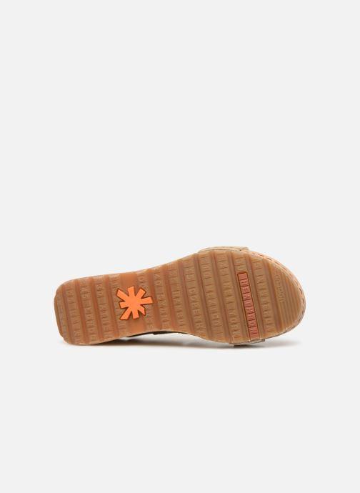 Sandales et nu-pieds Art Borne 1320 Beige vue haut