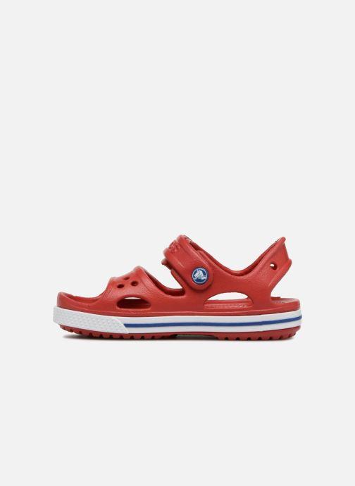 Sandalias Crocs Crocband II Sandal PS Rojo vista de frente