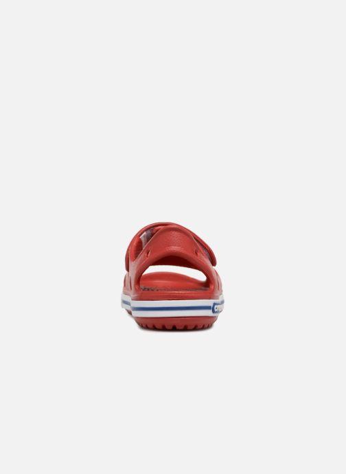 Sandalias Crocs Crocband II Sandal PS Rojo vista lateral derecha