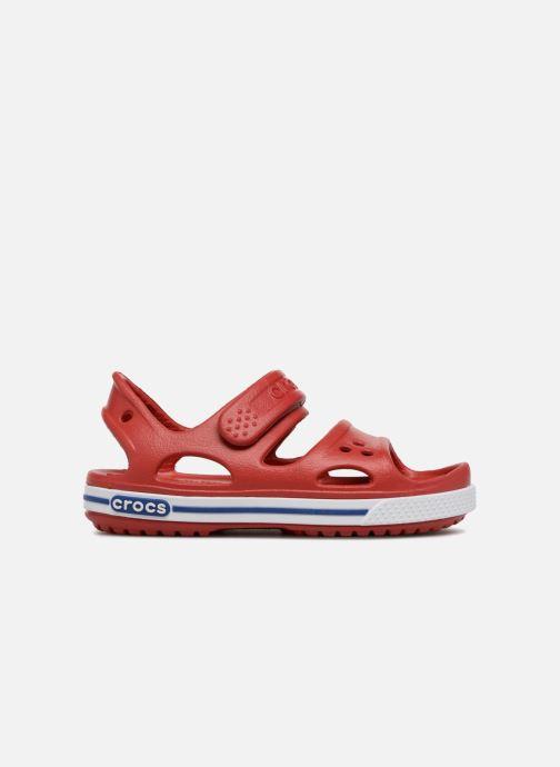 Sandalias Crocs Crocband II Sandal PS Rojo vistra trasera