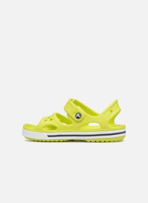 Sandales et nu-pieds Crocs Crocband II Sandal PS Vert vue face