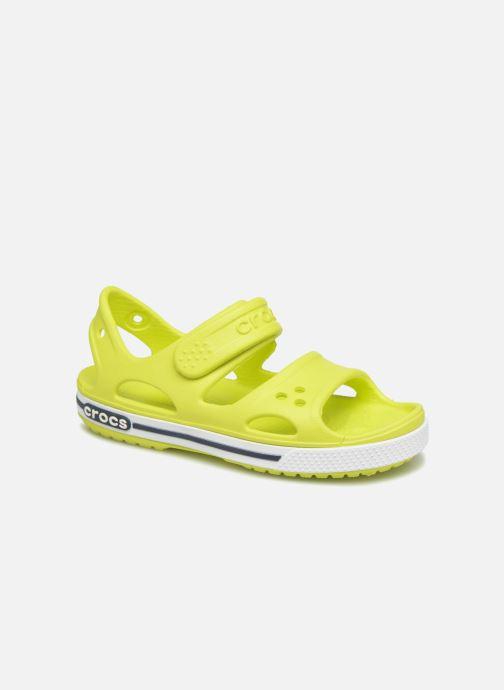 Sandales et nu-pieds Crocs Crocband II Sandal PS Vert vue détail/paire