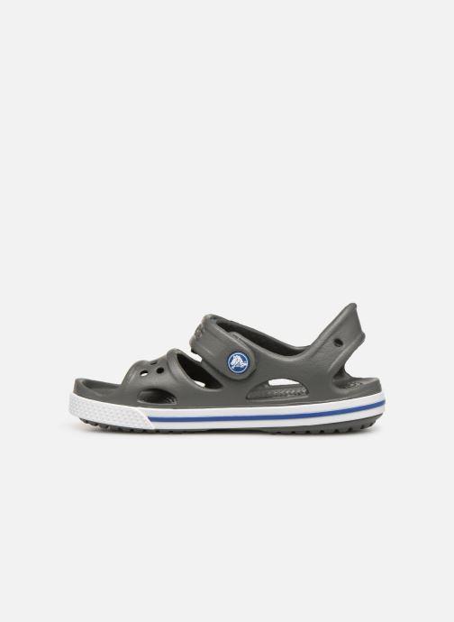 Sandales et nu-pieds Crocs Crocband II Sandal PS Gris vue face