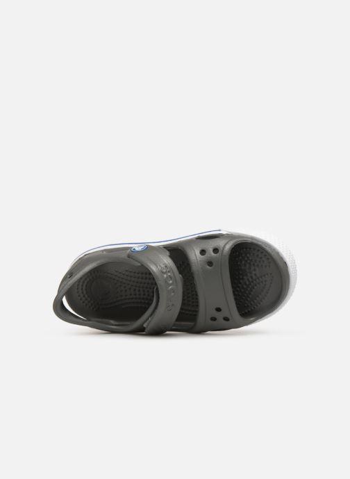 Sandales et nu-pieds Crocs Crocband II Sandal PS Gris vue gauche