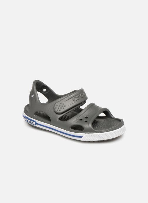 Sandales et nu-pieds Crocs Crocband II Sandal PS Gris vue détail/paire