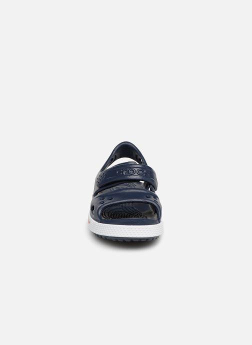 Sandales et nu-pieds Crocs Crocband II Sandal PS Bleu vue portées chaussures