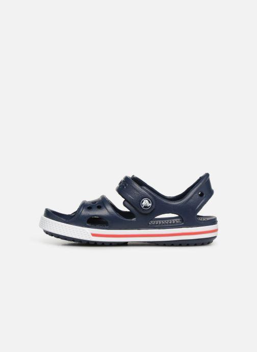 Sandalias Crocs Crocband II Sandal PS Azul vista de frente