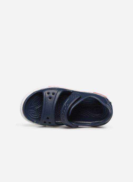 Sandales et nu-pieds Crocs Crocband II Sandal PS Bleu vue gauche