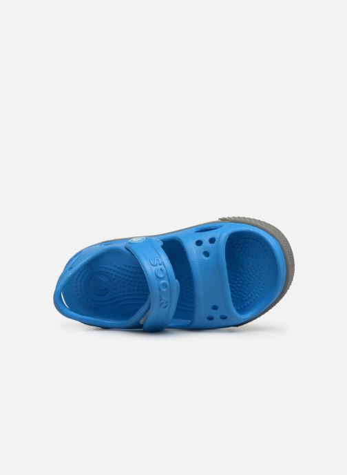 Sandalen Crocs Crocband II Sandal PS Blauw links