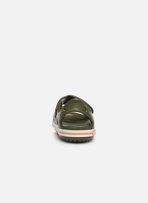 Sandali e scarpe aperte Crocs Crocband II Sandal PS Verde immagine destra