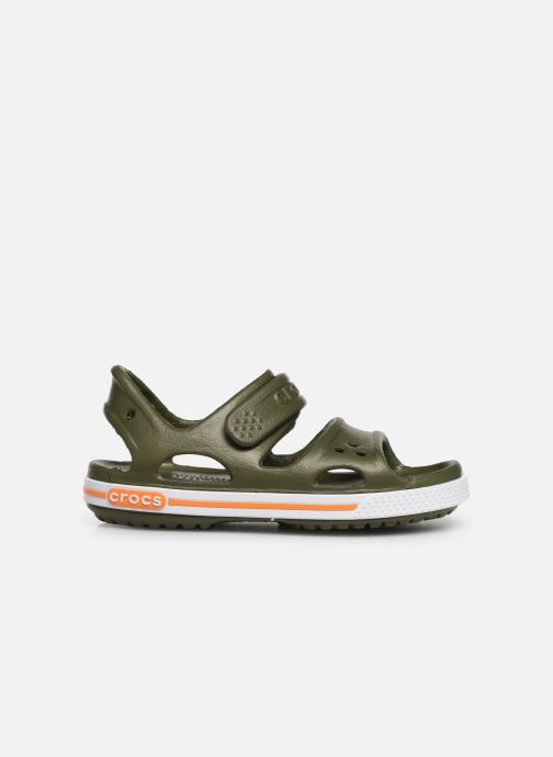 Sandaler Crocs Crocband II Sandal PS Grøn se bagfra