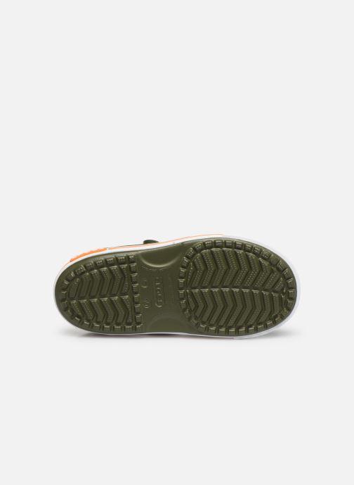 Sandaler Crocs Crocband II Sandal PS Grøn se foroven