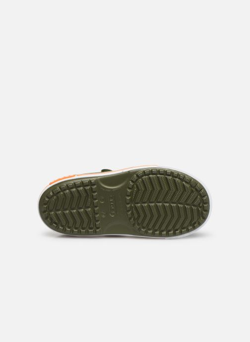 Sandals Crocs Crocband II Sandal PS Green view from above