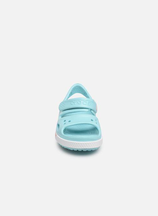 Sandali e scarpe aperte Crocs Crocband II Sandal PS Azzurro modello indossato