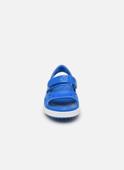 Sandalias Crocs Crocband II Sandal PS Azul vista del modelo