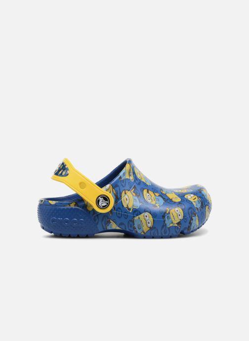 Sandalias Crocs Classic Clog Graphic Kids FL Minions Azul vistra trasera