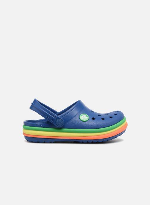 Sandales et nu-pieds Crocs CB Rainbow Band Clog Kids Bleu vue derrière