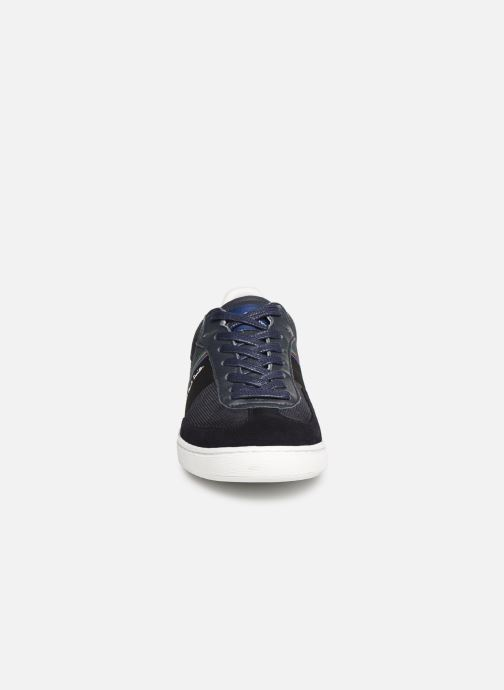 Baskets PS Paul Smith Yuki Bleu vue portées chaussures