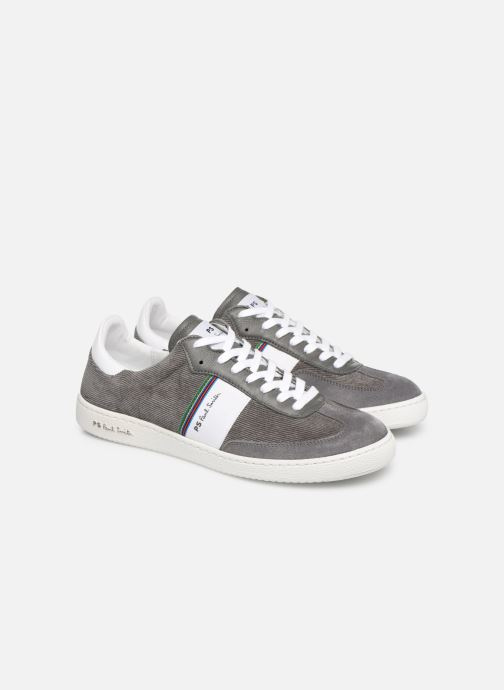 Baskets PS Paul Smith Yuki Gris vue 3/4