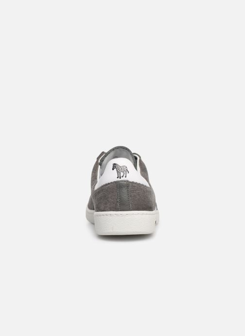 Baskets PS Paul Smith Yuki Gris vue droite