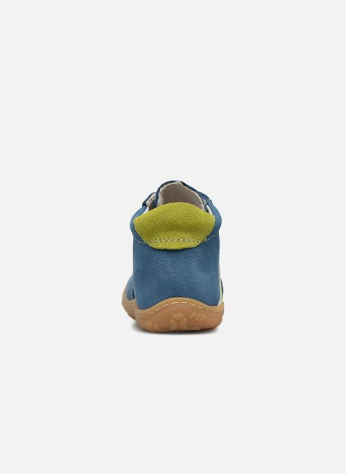 Ankle boots PEPINO Pamy Blue view from the right