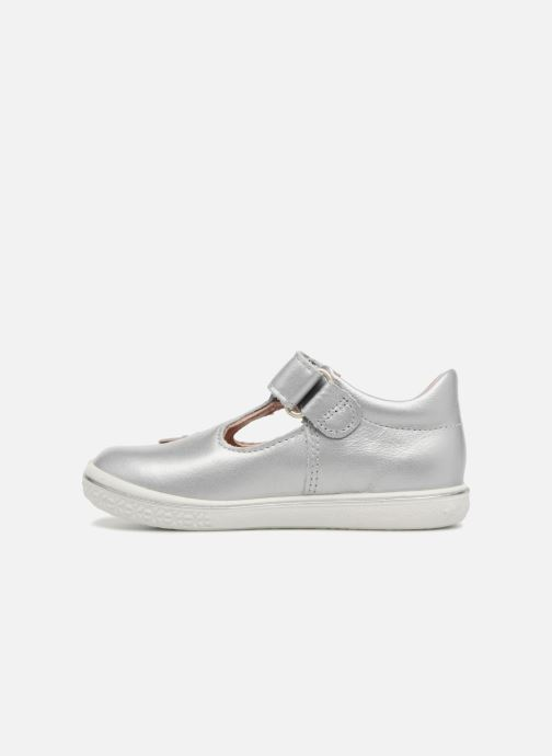 Ballet pumps PEPINO Candy Silver front view