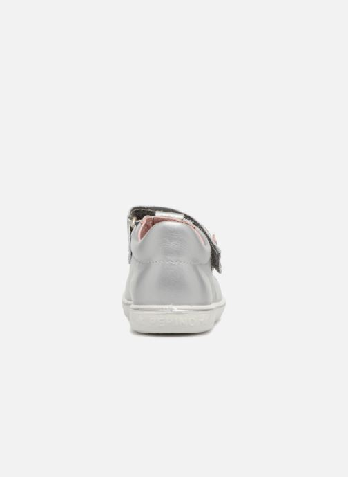 Ballet pumps PEPINO Candy Silver view from the right