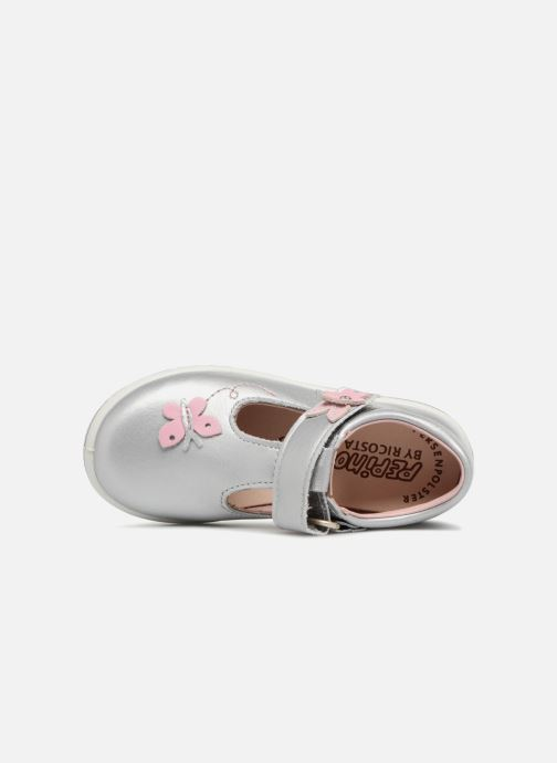 Ballet pumps PEPINO Candy Silver view from the left
