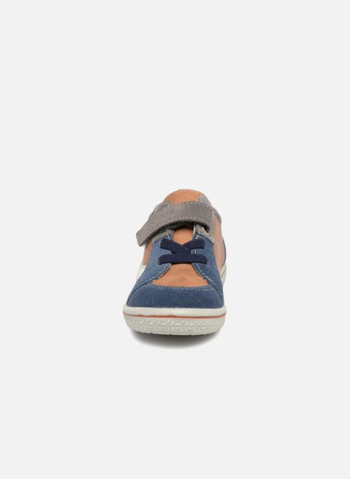 Baskets PEPINO Tommy Marron vue portées chaussures